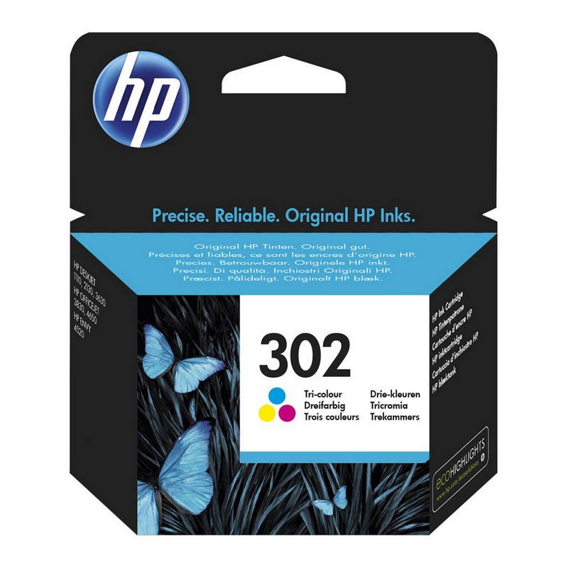 HP F6U65AE Nº 302 Color  PcComponentes