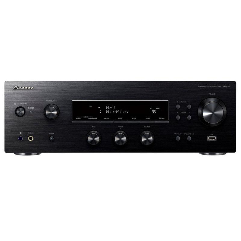 pioneer sx n30 receptor audio wifi negro pccomponentes. Black Bedroom Furniture Sets. Home Design Ideas