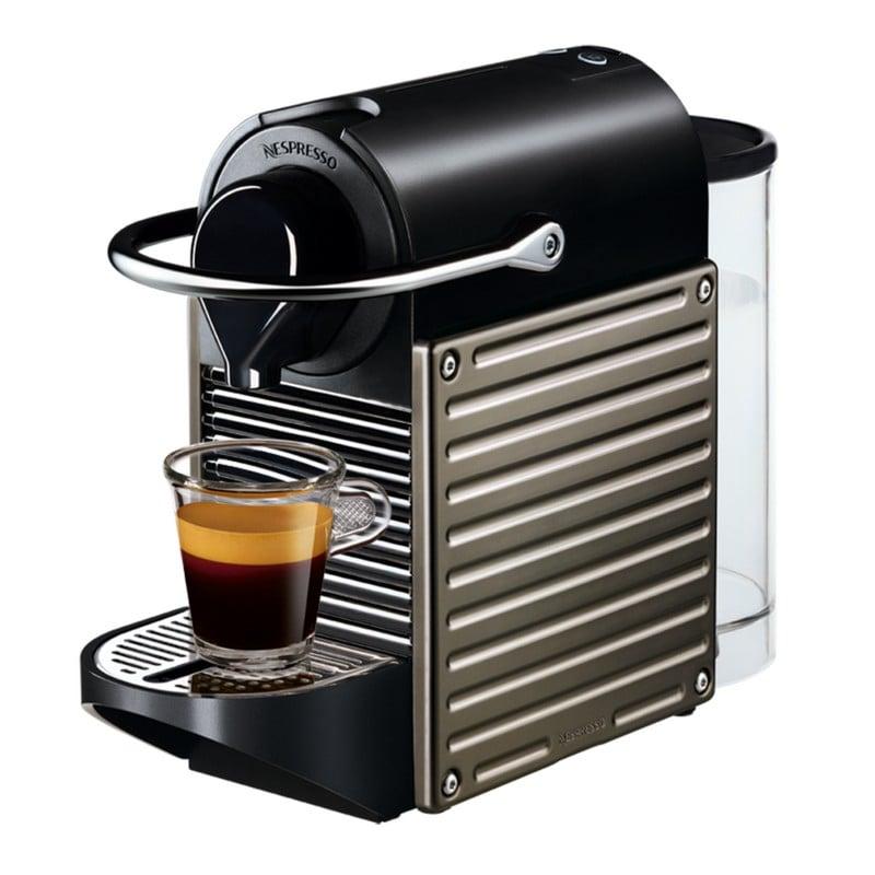 krups nespresso pixie titanium. Black Bedroom Furniture Sets. Home Design Ideas