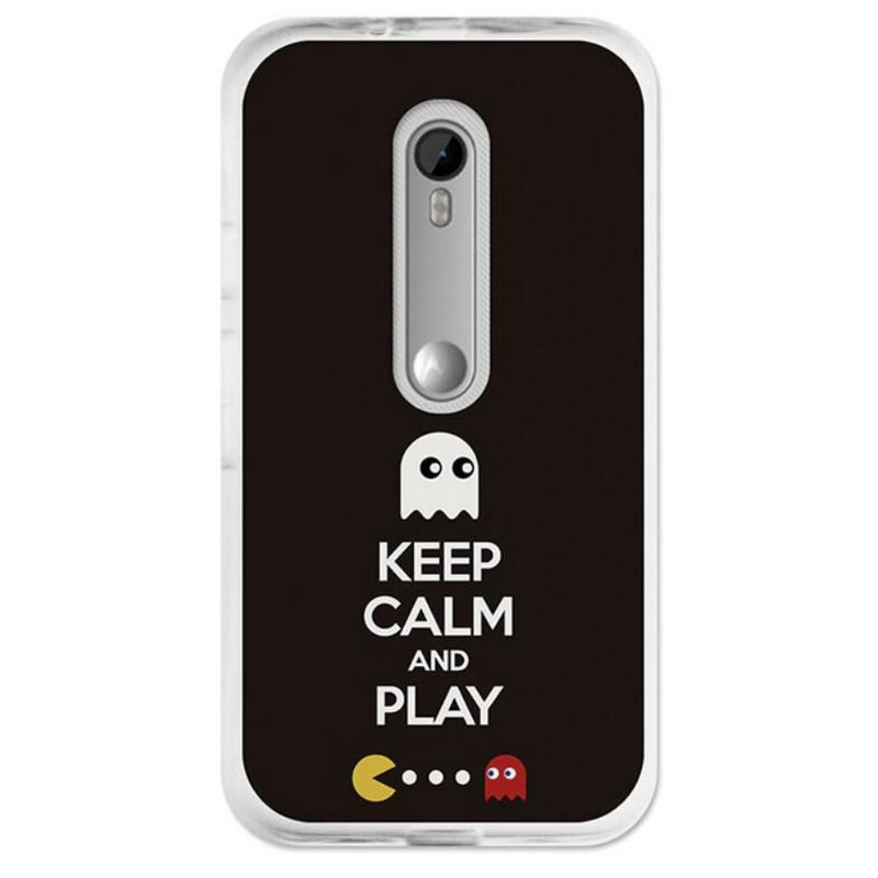 5f76982f278 BeCool Funda Keep Calm Come Cocos para Moto G 2015 |PcComponentes