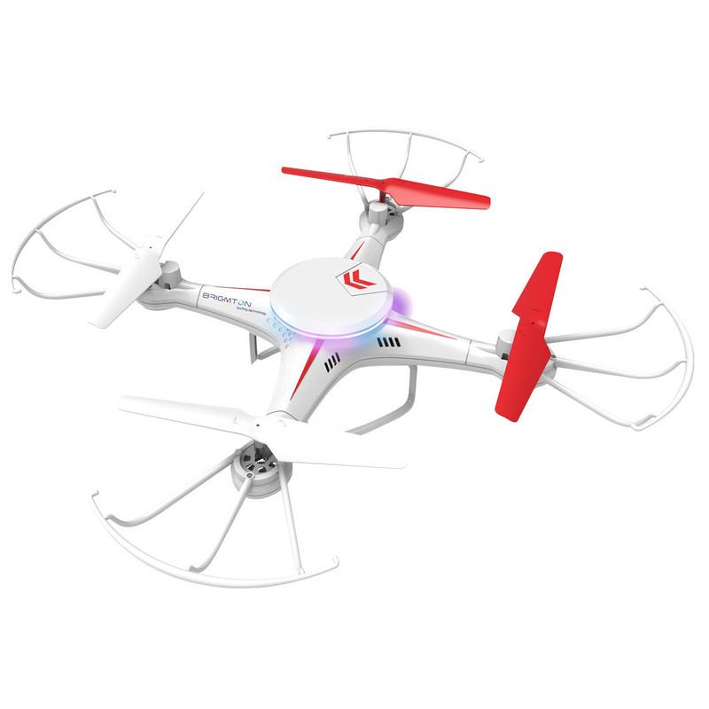Brigmton bdrone drone con cámara fpv pccomponentes