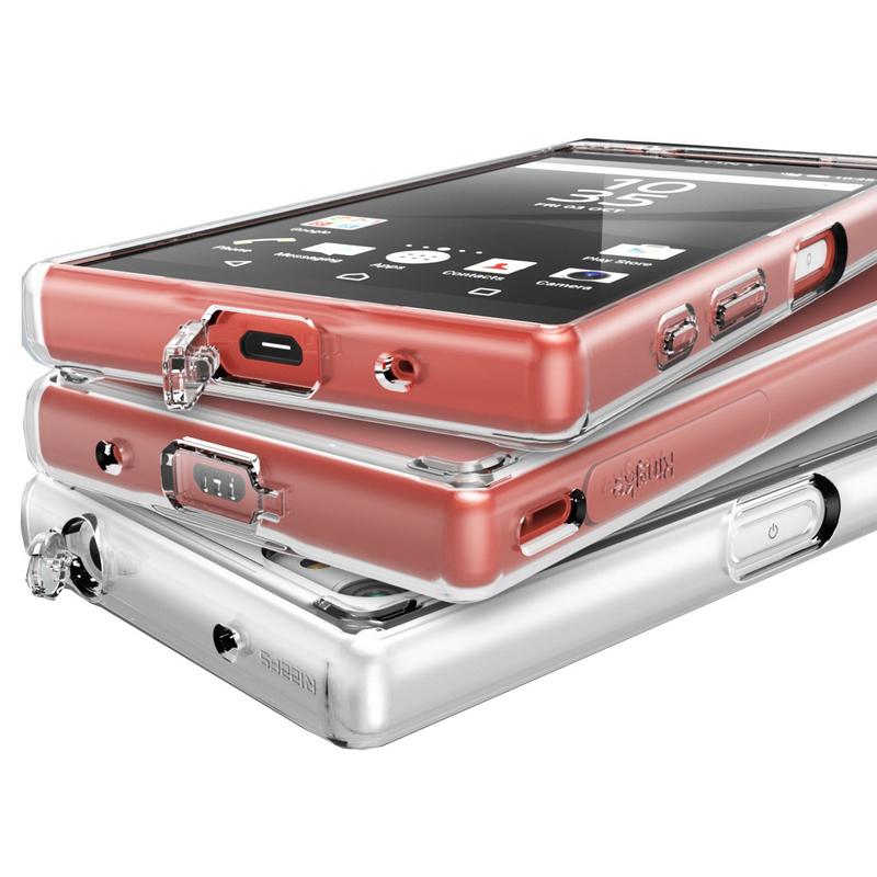 1a269cb6c09 Rearth Ringke Fusion Cristal para Sony Xperia Z5 Compact |PcComponentes