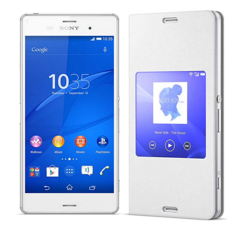 75475eeb57b Sony Xperia Z3 Blanco Libre + Funda View Cover Edition |PcComponentes