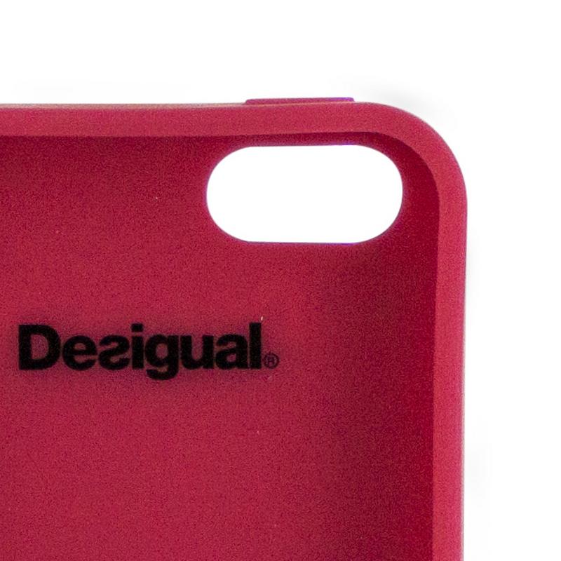 9bed9368564 Desigual Funda Silicona Romántica Jacky Apple para iPhone 5/5S ...