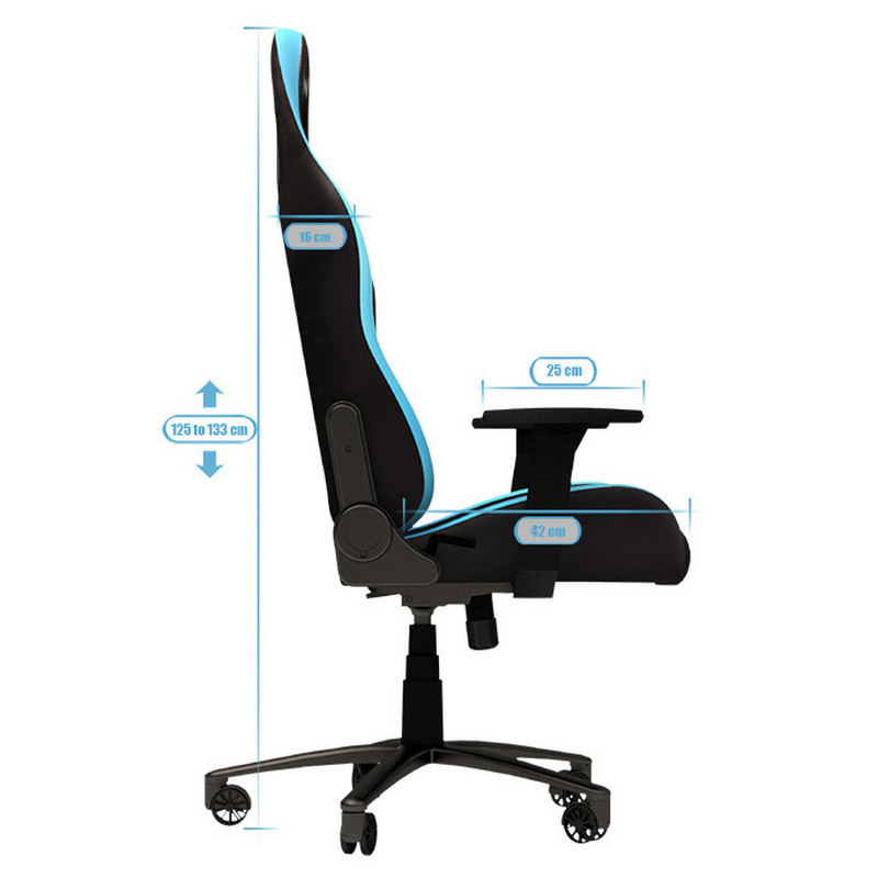 Newskill takamikura silla gaming roja for Precio sillas gamer