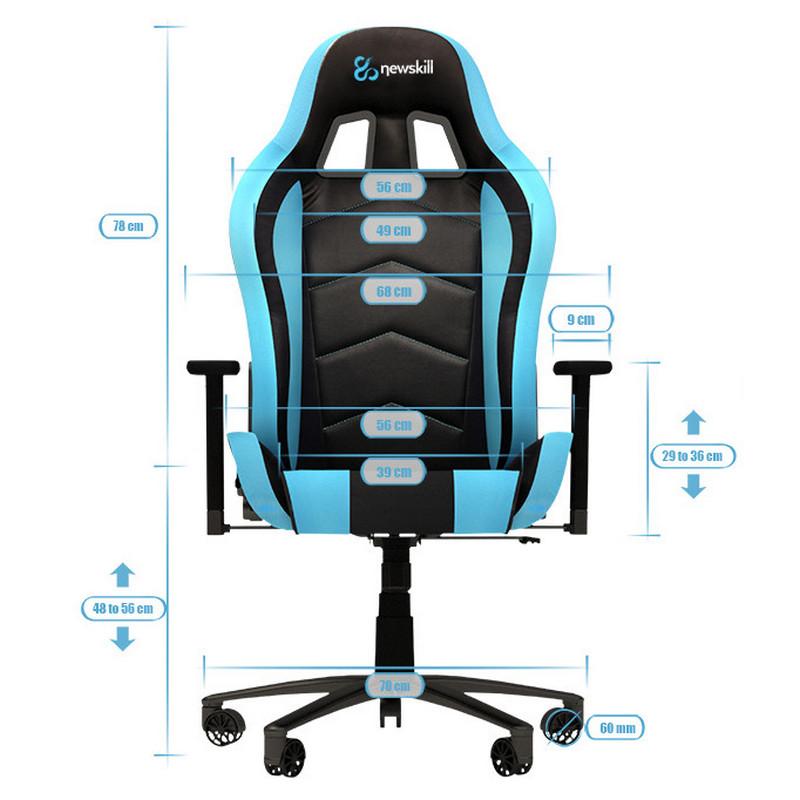 Newskill takamikura silla gaming blanca for Silla gamer oferta