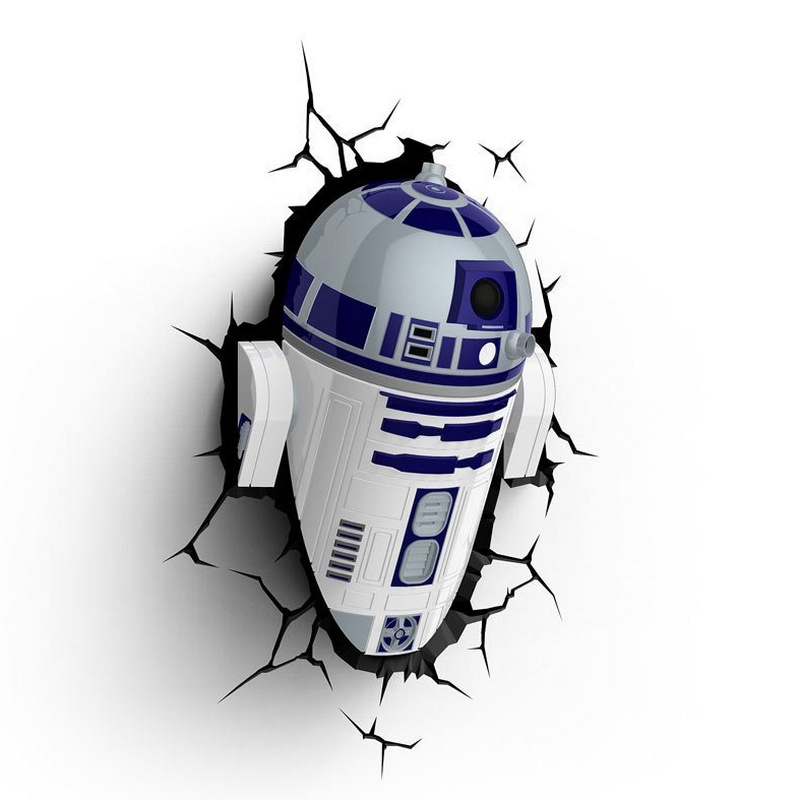 D2 Wars Lámpara Star R2 3DPcComponentes OZkPXiu