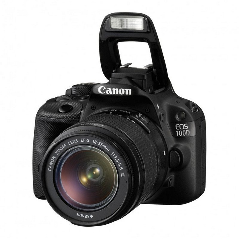 Cámara Canon Eos 100D Kit de manual de instrucciones original