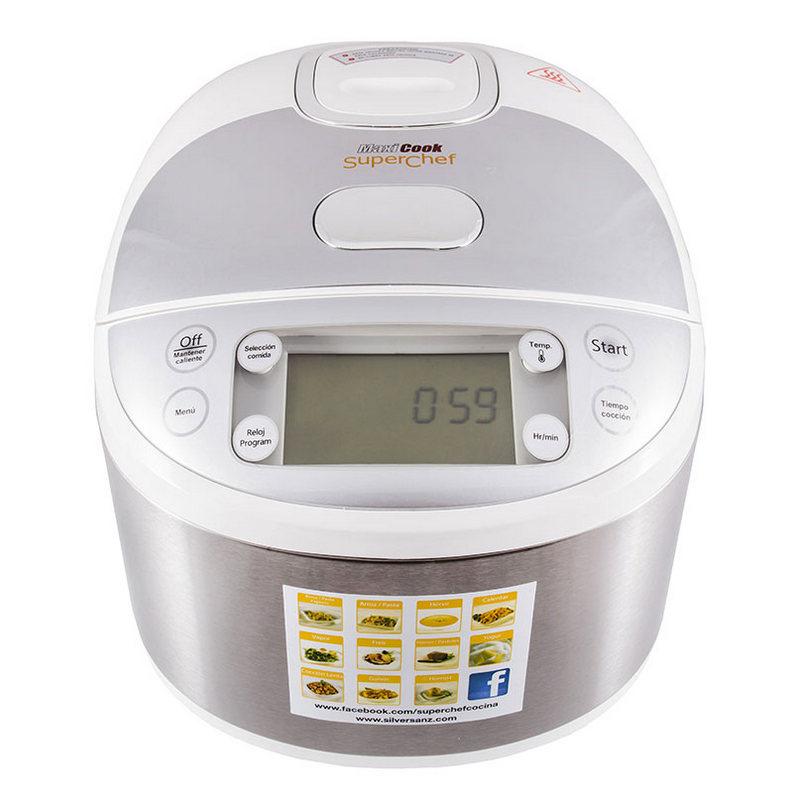 SuperChef MaxiCook CF105-S2 Robot de Cocina |PcComponentes