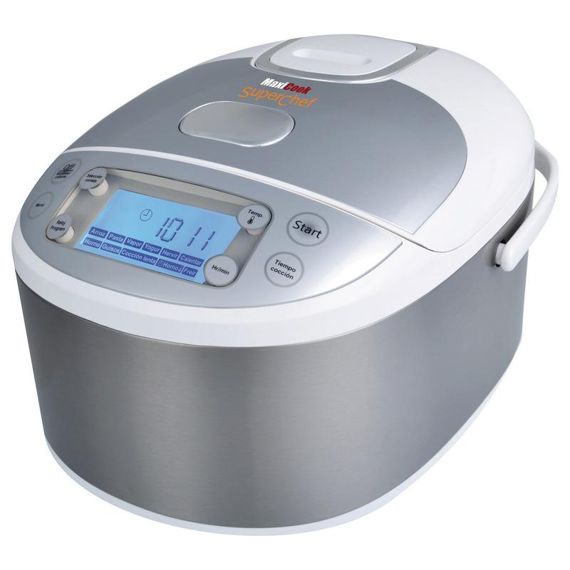 Superchef maxicook cf105 s2 robot de cocina pccomponentes - Robot de cocina superchef ...