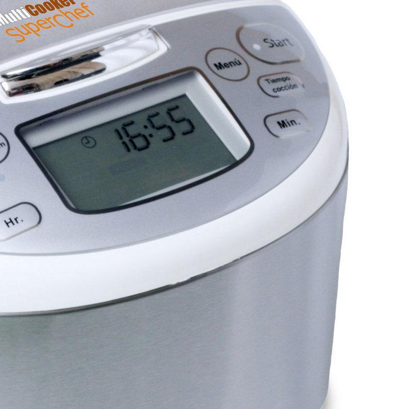 Superchef multicooker cf100 s robot de cocina 4l pccomponentes - Robot de cocina superchef ...