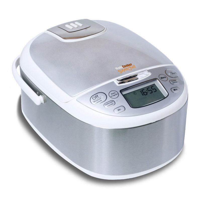 Superchef multicooker cf100 s robot de cocina 4l for Robot de cocina fussioncook