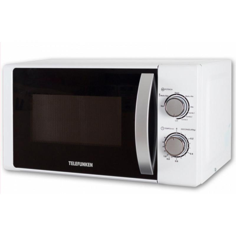 Telefunken tlkm20g microondas 20l con grill 700w pccomponentes - Pccomponentes microondas ...
