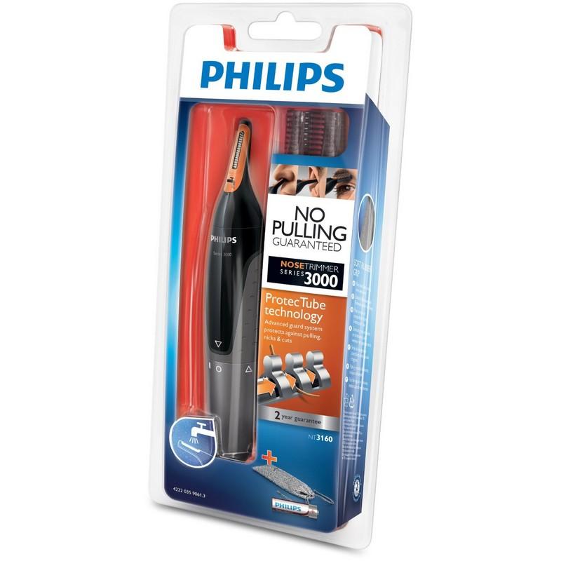 Philips maquina cortapelo para nariz y orejas