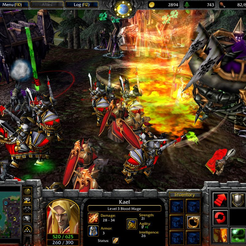 WarCraft III Gold Edition PC