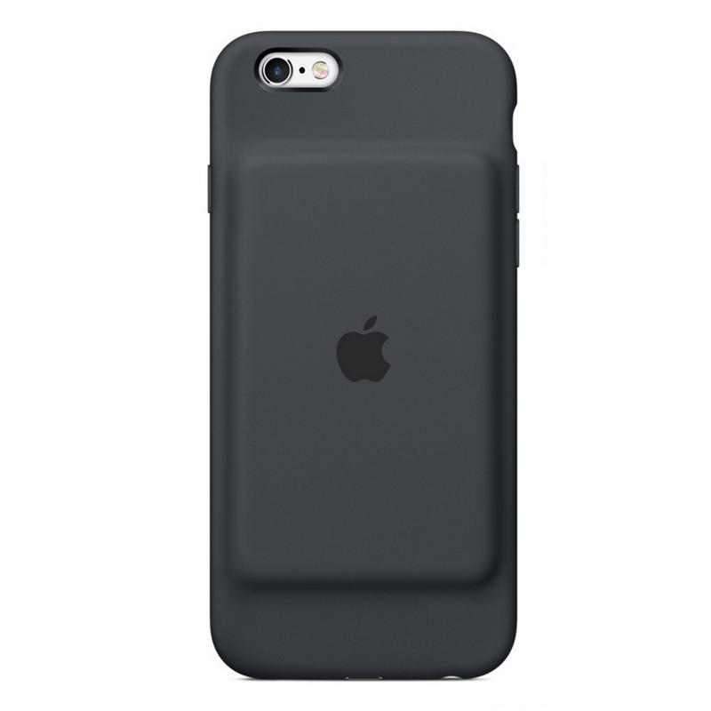 Apple Funda Smart Battery Gris Para Iphone 6 6s
