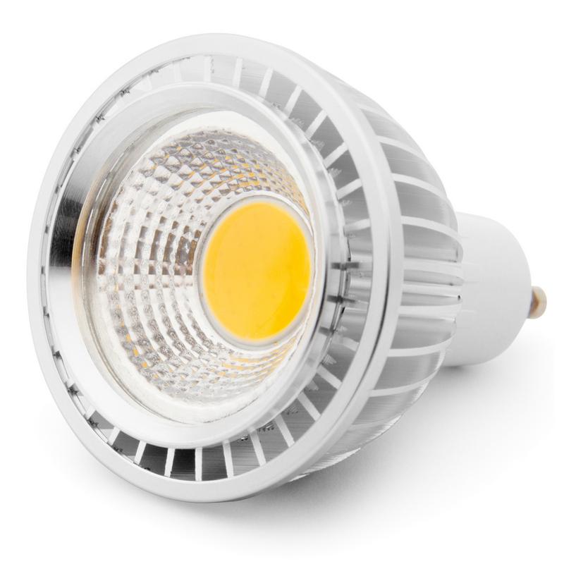 Bombilla led gu10 5w blanco c lido pccomponentes - Bombilla led 5w ...