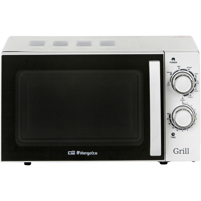 Orbegozo mig 2030 microondas con grill 700w 20l pccomponentes - Pccomponentes microondas ...