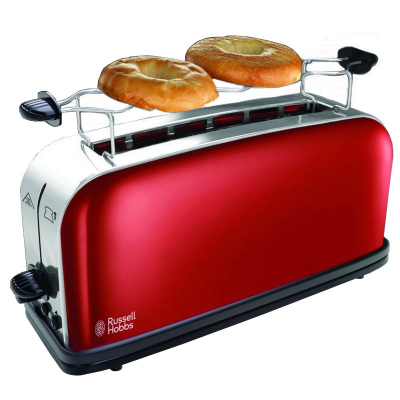 Russell hobbs 21391 56 tostadora 1000w roja pccomponentes for Russell hobbs grille pain radio