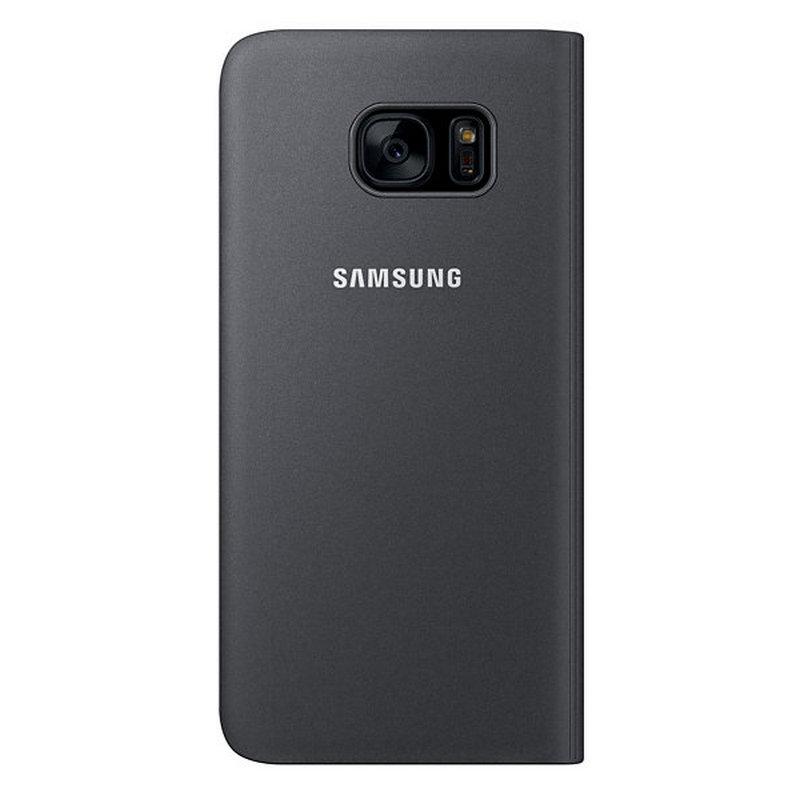 Samsung S View Cover Negra Para Galaxy S7 Edge Pccomponentes