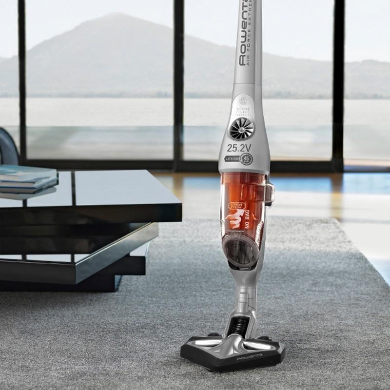 rowenta air force extreme rh8828wo 25 2v aspirador escoba sin cable. Black Bedroom Furniture Sets. Home Design Ideas