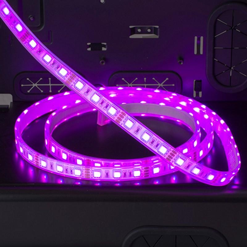 phanteks led strips led rgb 2m pccomponentes. Black Bedroom Furniture Sets. Home Design Ideas