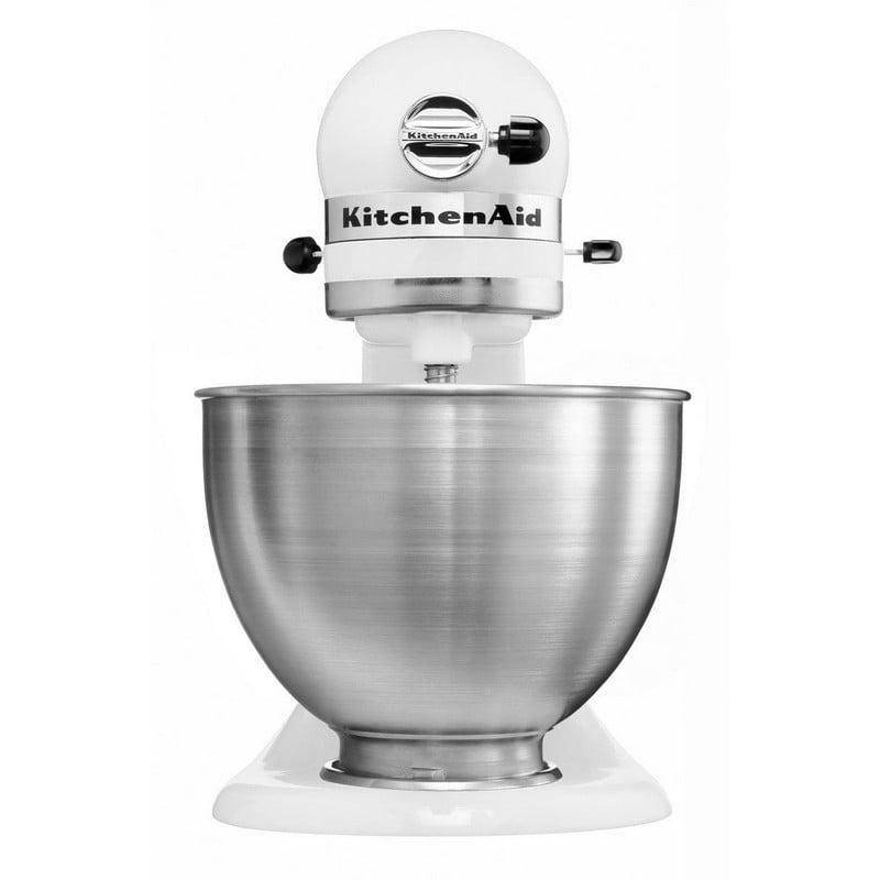 kitchenaid 5k45ss ewh robot classic amasadora l blanco pccomponentes. Black Bedroom Furniture Sets. Home Design Ideas