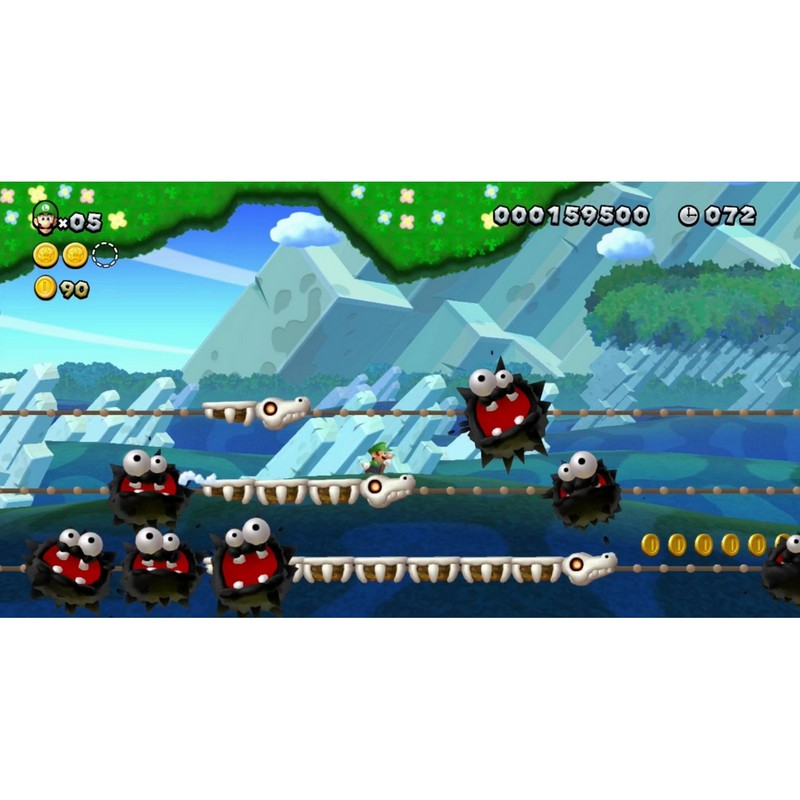 New Super Mario Bros U Luigi U Select Wii U Pccomponentes