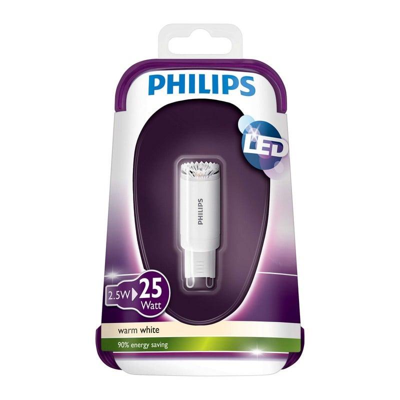 philips bombilla led g9 25w 204 l mens blanco c lido pccomponentes. Black Bedroom Furniture Sets. Home Design Ideas