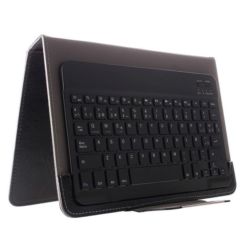 Bebook funda para tablet 10 con teclado bluetooth pccomponentes - Funda teclado bluetooth ...