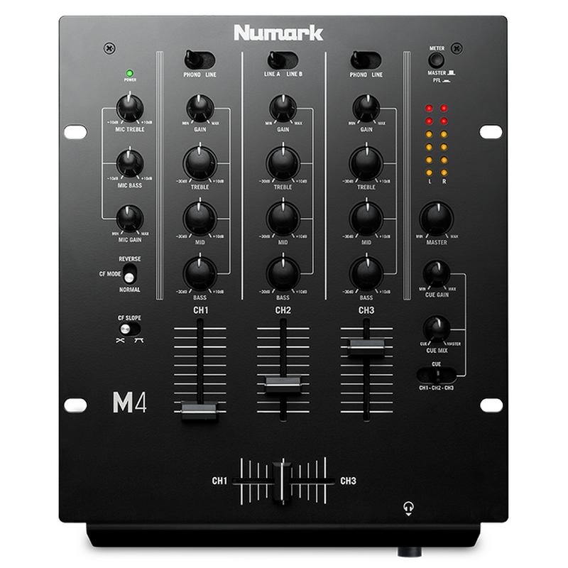 Numark m4 mesa de mezclas dj 3 canales pccomponentes - Mesa de mezclas 2 canales ...