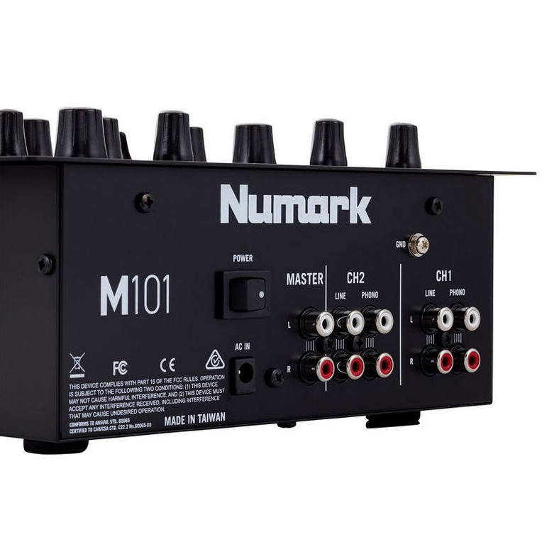 Numark m101 mesa de mezclas dj 2 canales pccomponentes - Mesas de mezclas para pc ...