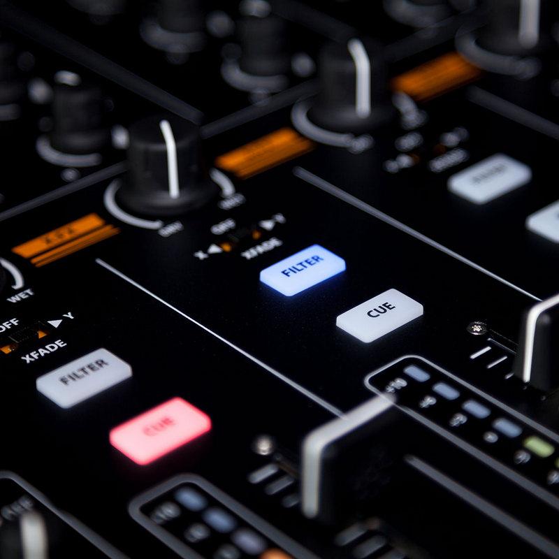 Allen heath xone 43 mesa de mezclas dj 4 1 canales - Mesas de mezclas para pc ...