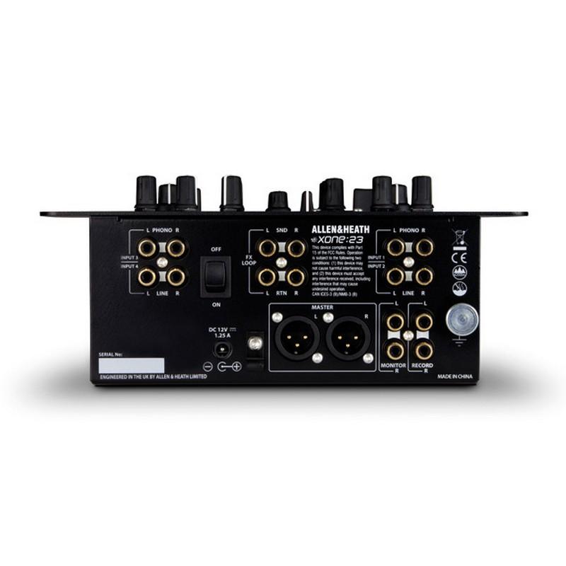 Allen heath xone 23 mesa de mezclas dj 2 canales pccomponentes - Mesa de mezclas 2 canales ...