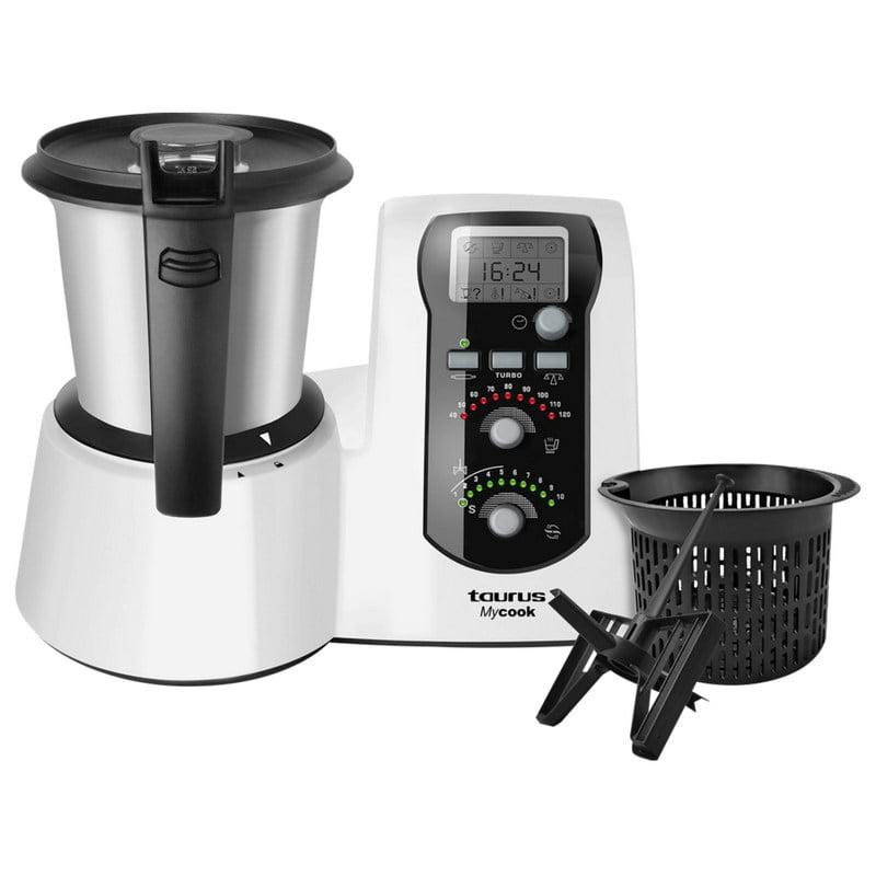 Taurus mycook easy robot de cocina pccomponentes for Robot cocina taurus mycook
