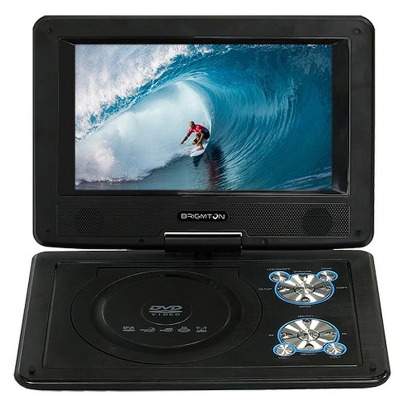 Brigmton reproductor dvd port til 9 usb for Retrete portatil precio