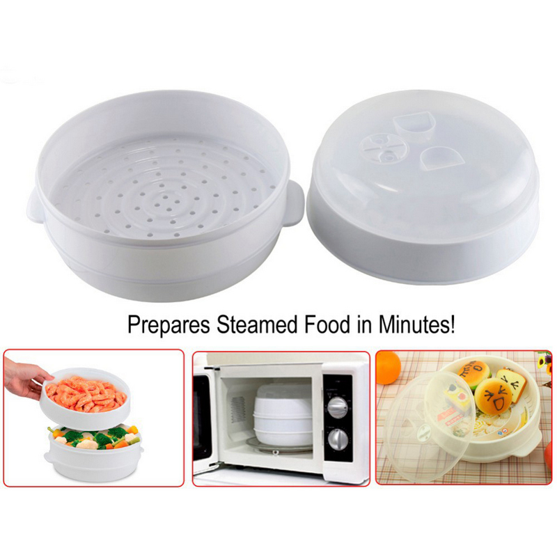 Cocina al vapor para microondas pccomponentes for Comidas hechas en microondas