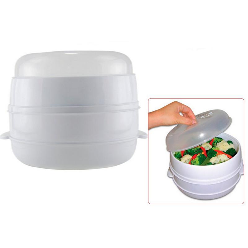 cocina al vapor para microondas pccomponentes