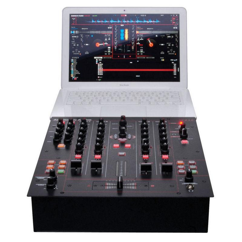 American audio 14mxr mesa de mezclas dj 4 canales pccomponentes - Mesa de mezclas 2 canales ...