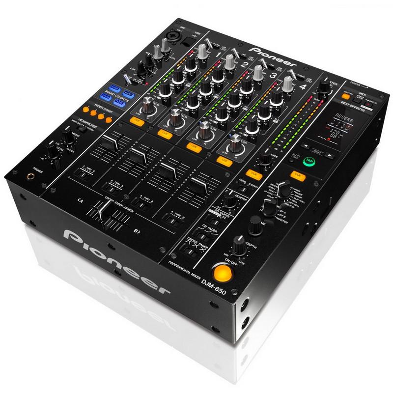 pionner djm 850 mesa de mezclas dj 4 canales pccomponentes