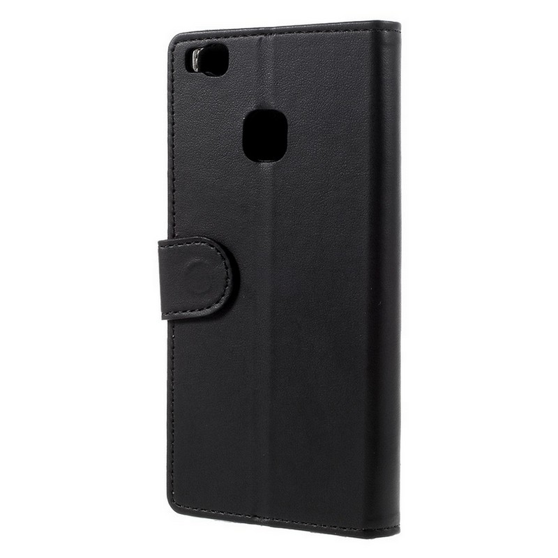 Funda Flip Cover Negra Para Huawei P9 Lite Pccomponentes