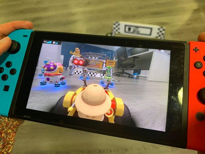 Mario Kart live analisis