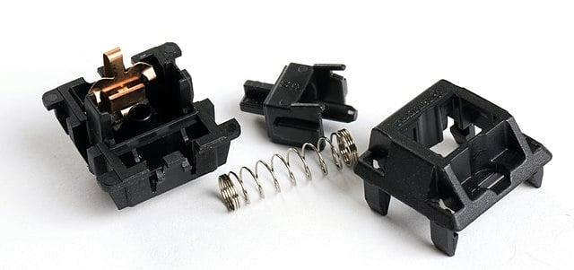 partes de un switch de teclado