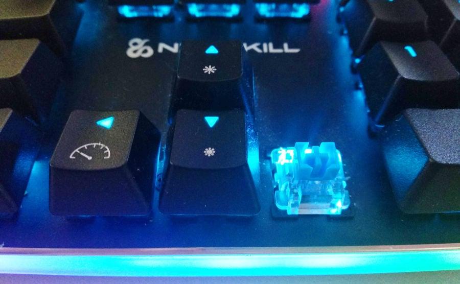 switch Cherry MX azul