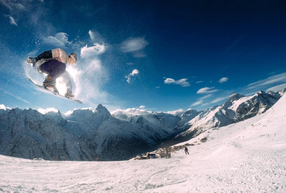 fotos de deportes de invierno