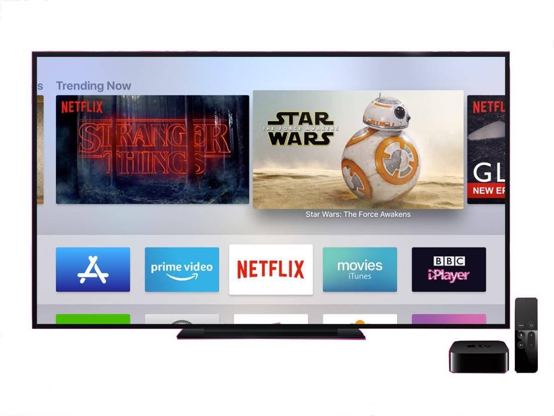 apple tv aplicaciones