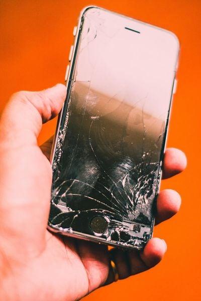 iphone pantalla rota