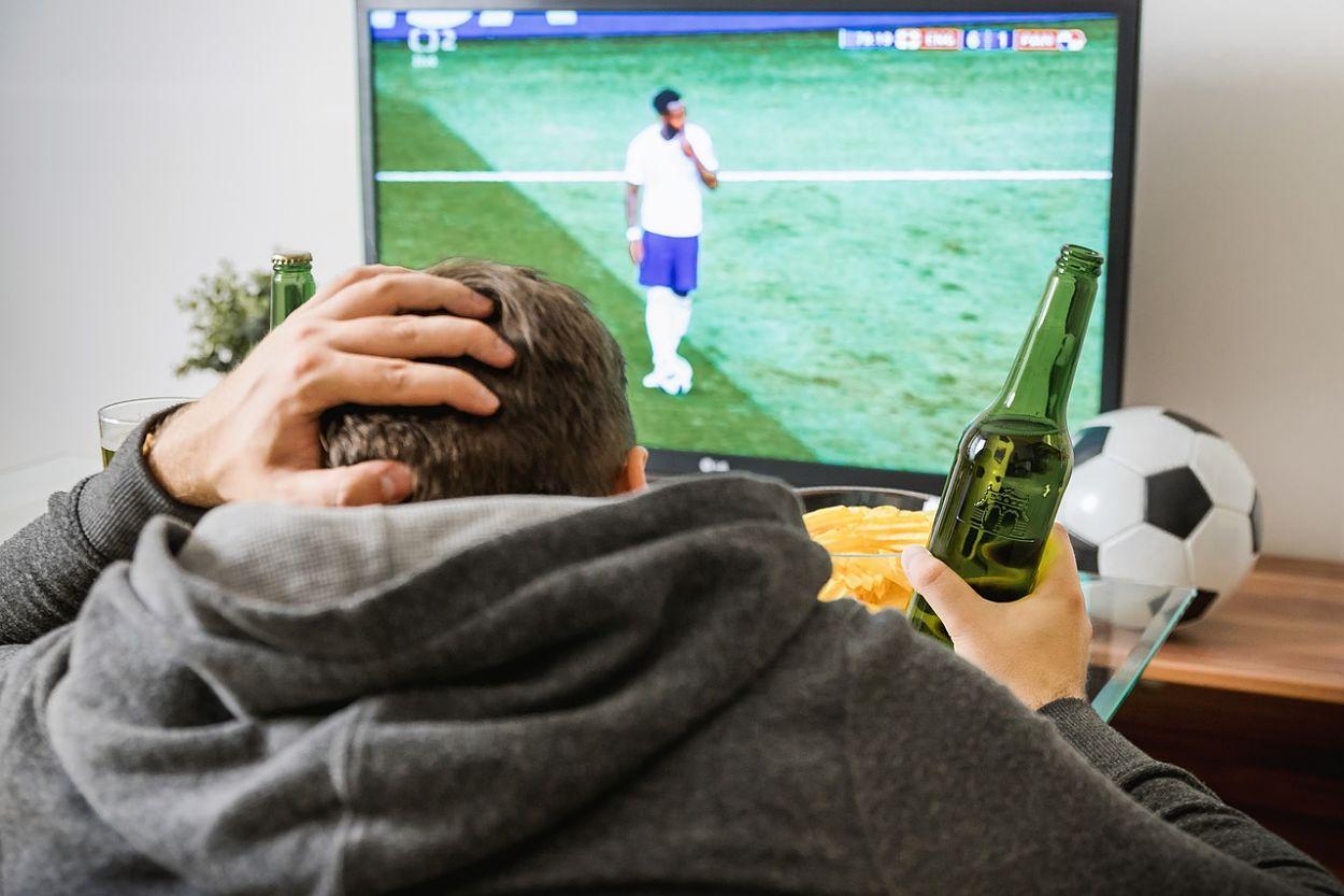 televisor para ver el futbol