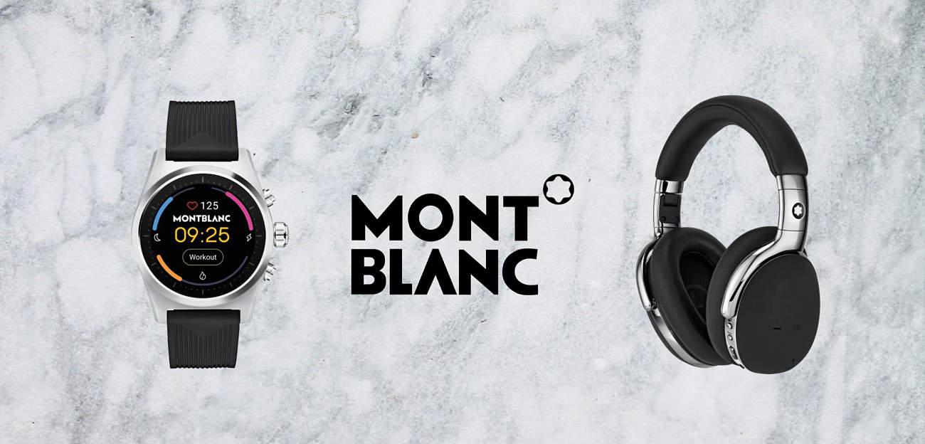 Relojes y auriculares Montblanc, lujo y elegancia