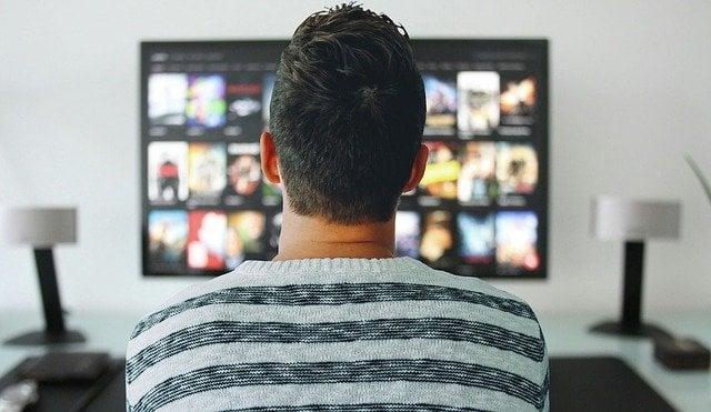 distancia al televisor